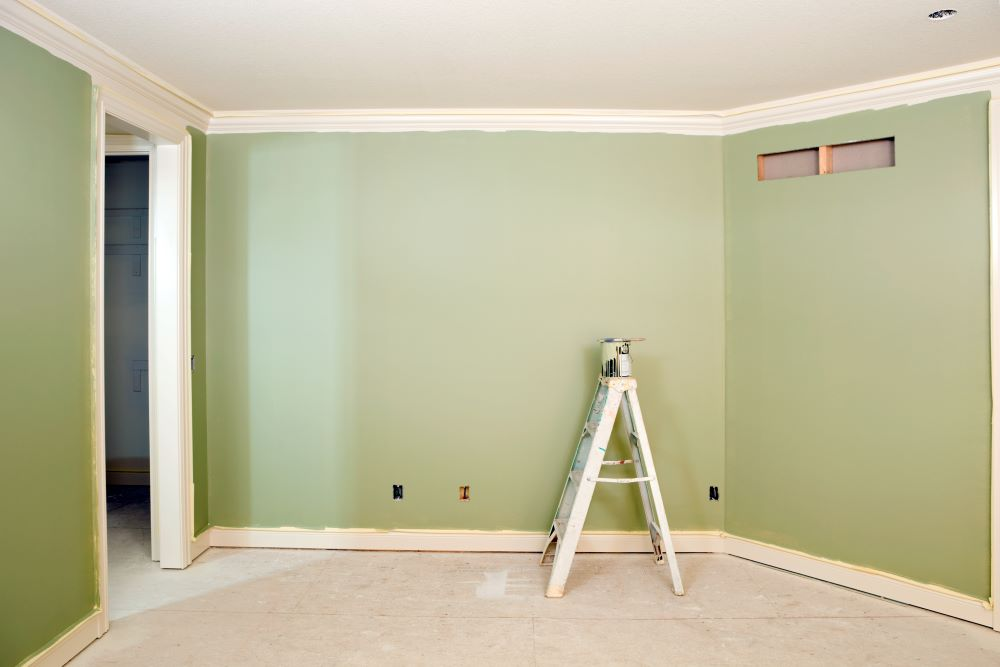 Sage Green Paint Decor