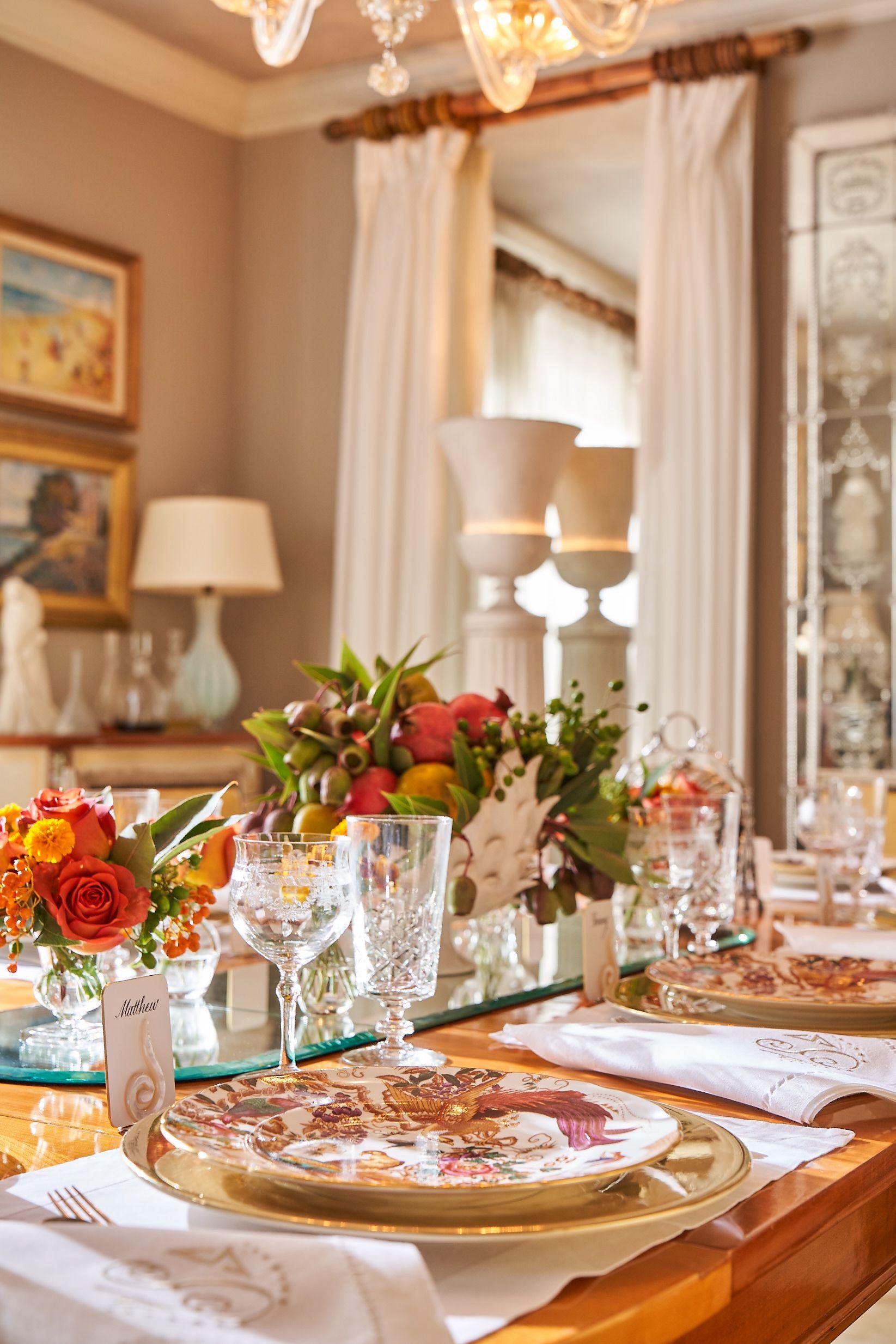 Thanksgiving Tablescape Decor Ideas