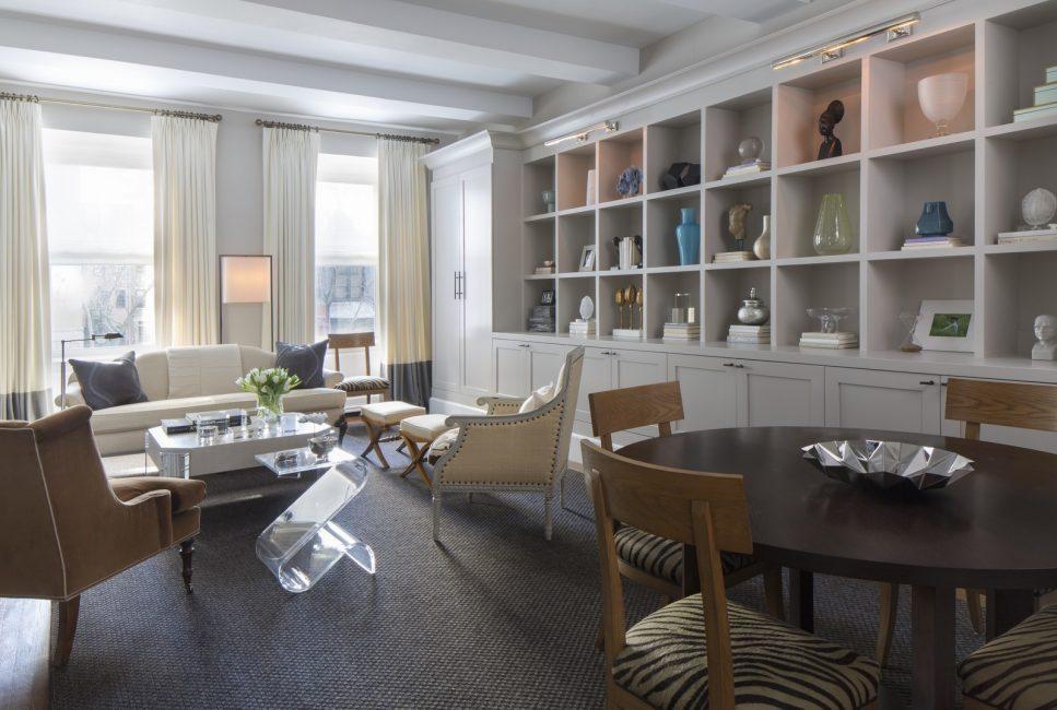 Upper East Side Loft With Transitional Design