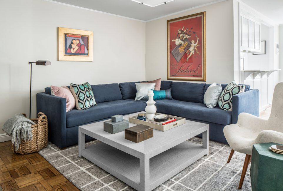 Upper West Side Family Living Room